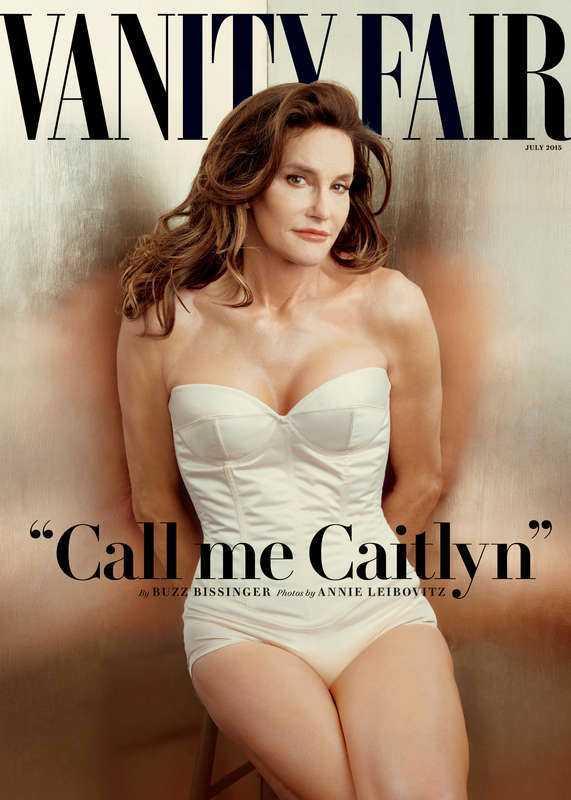 Omslaget där tidigare Bruce Jenner kom ut som Caitlyn Jenner