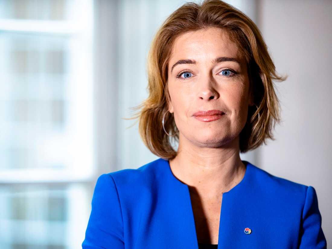 Annika Strandhäll blev vittne till händelsen vid T-centralen.
