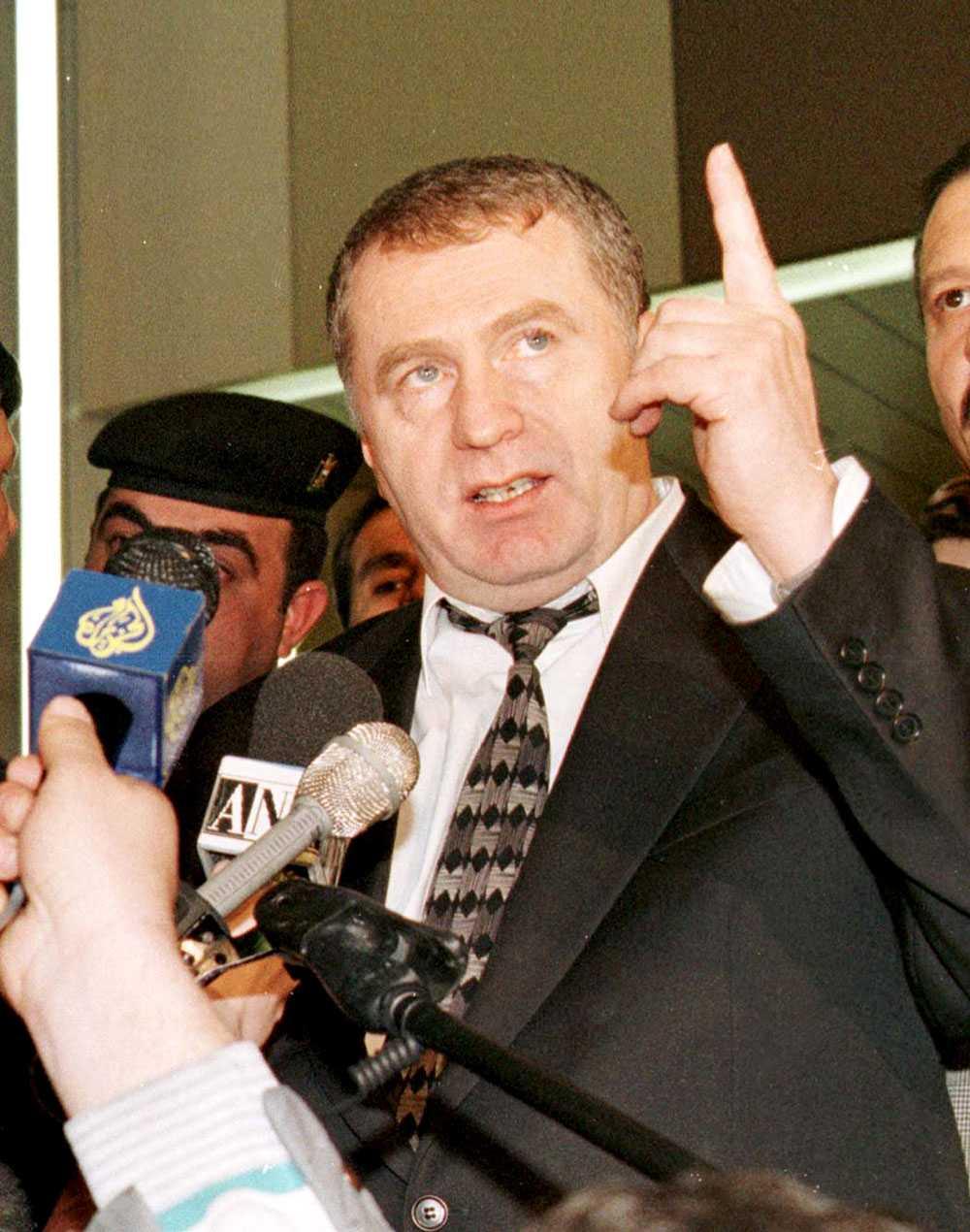 Ultranationalisten Vladimir Zjirinovkisj.