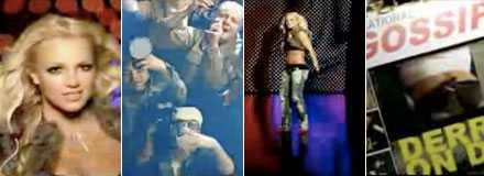 """Bilder ur Britney Spears video """"Piece of me?"""""""