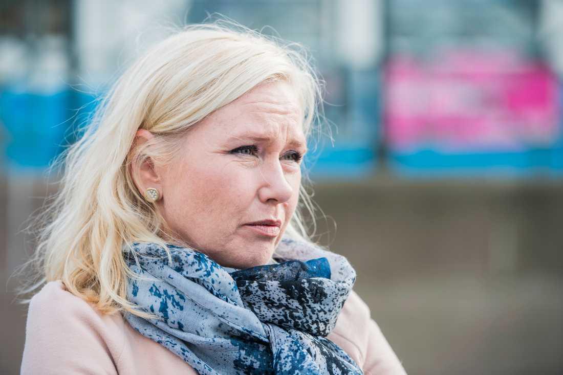 Tidigare infrastrukturminister Anna Johansson (S).