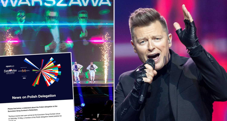Corona i Eurovision – hel delegation satt i karantän