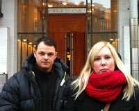 Aftonbladets fotograf Peter Wixtröm och reporter Linda Hjertén på plats i Oslo.