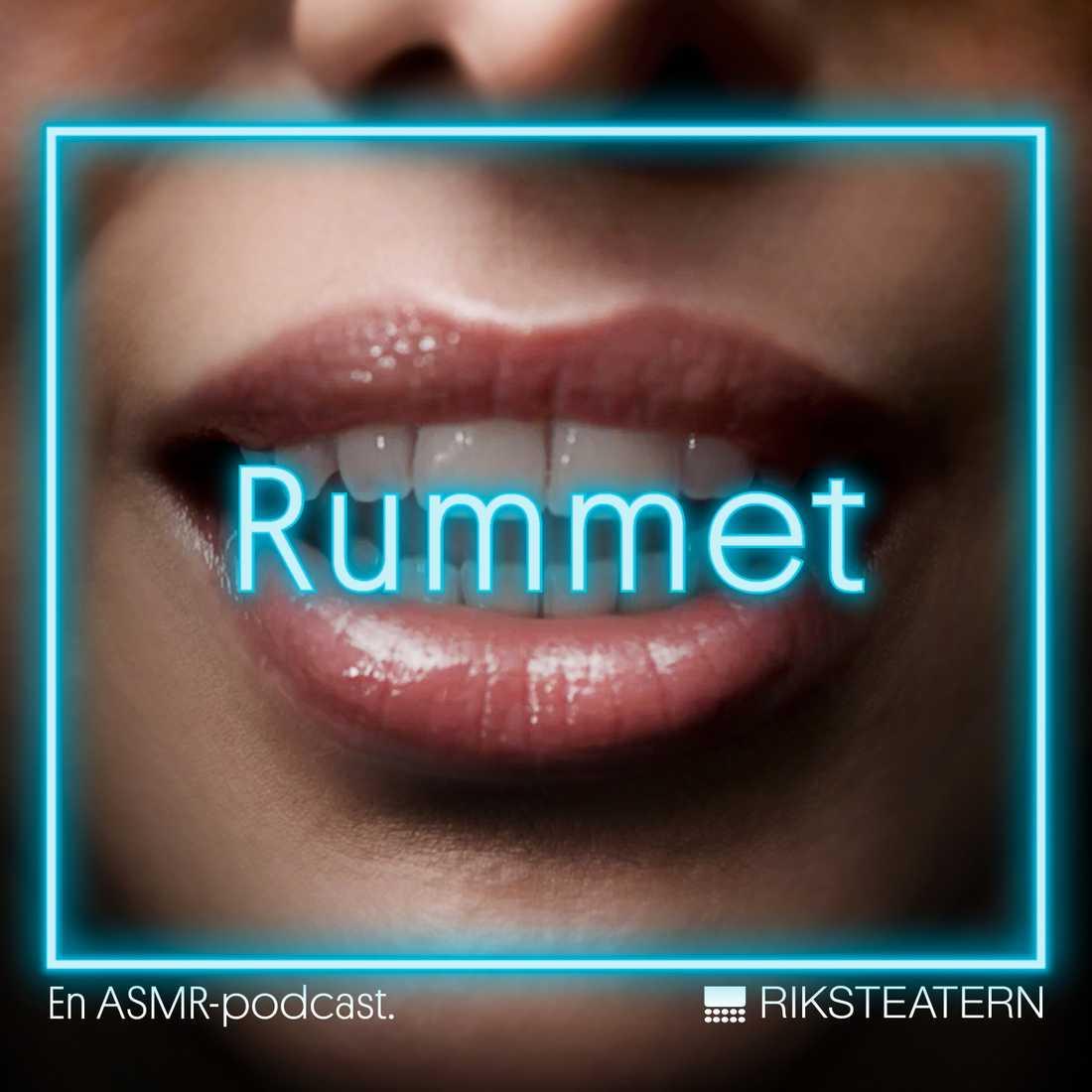 "Riksteatern släpper ASMR-podcasten ""Rummet"". Pressbild."