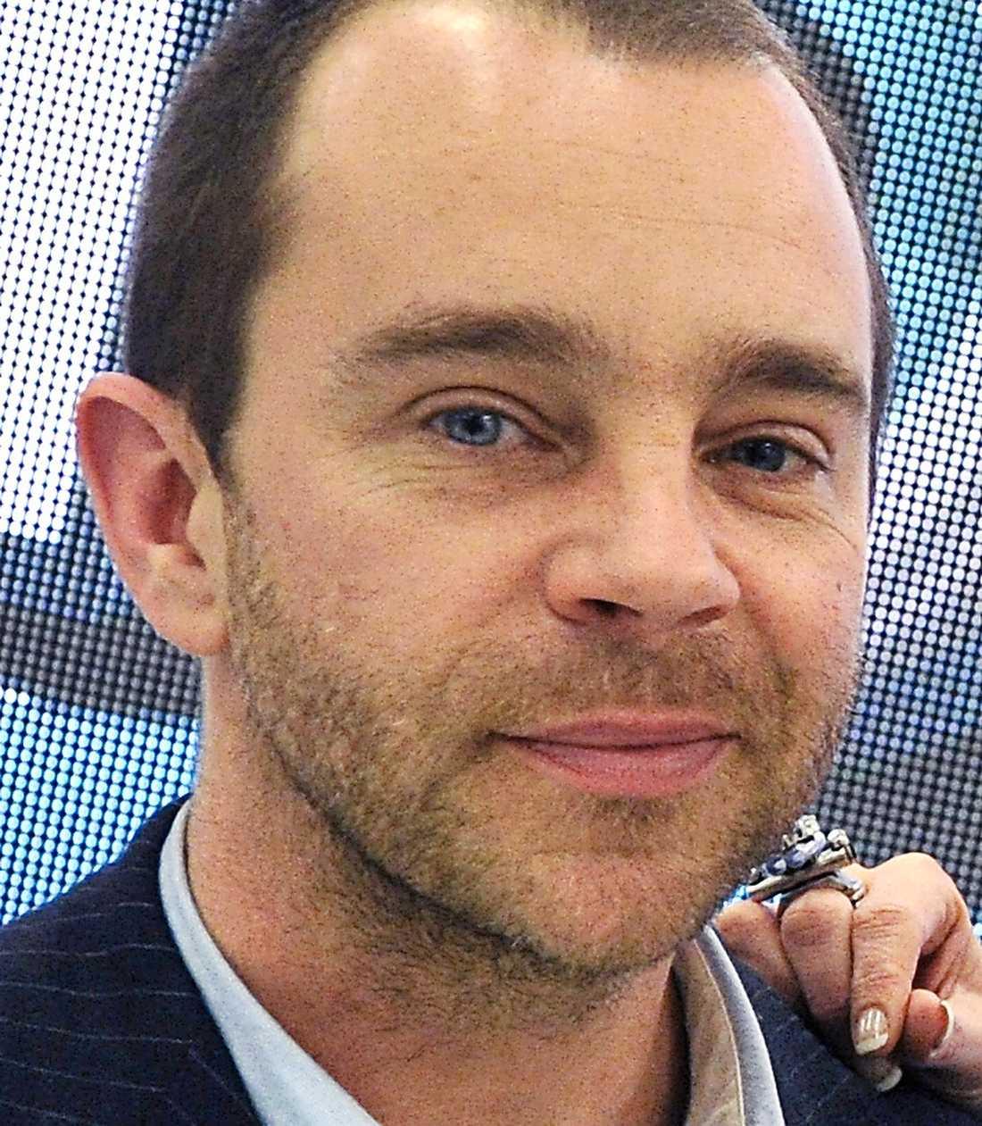 Glanzelius, chef på TV11.
