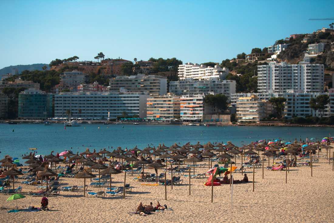 Tre svenskar har häktats i Palma på Mallorca. Arkivbild.