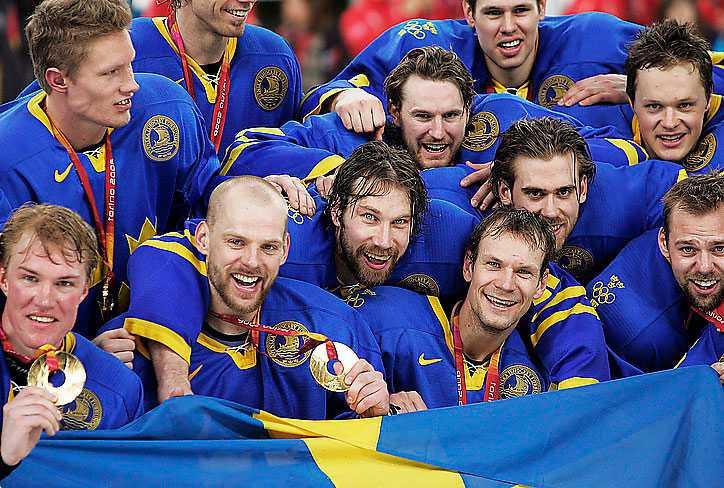 Tre Kronor i OS i Turin 2006