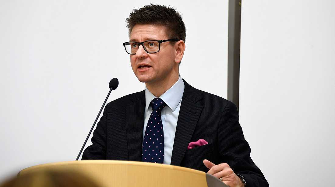 Regeringskansliets säkerhetschef Fredrik Agemark. Arkivbild.