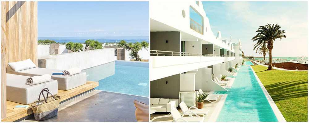 Addera extra lyx på resan med hotellrum som har direktaccess till pool.
