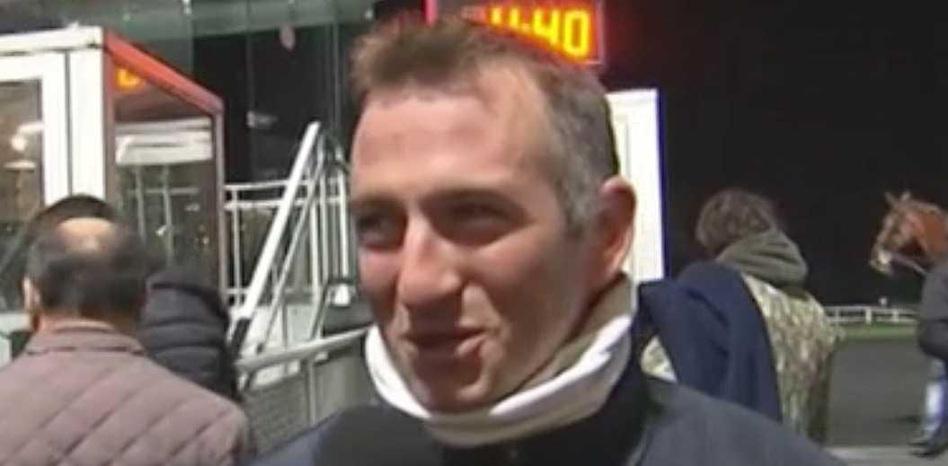 Tränaren Ludovic Peltier.