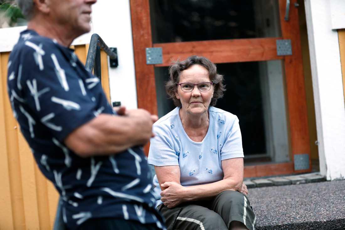 """""""Jag känner mig orolig och tycker att det är läskigt"""", säger Maia Viitala."""