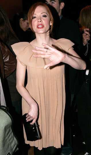 Rose McGowan ville inte bli fotad, men stylish var hon!