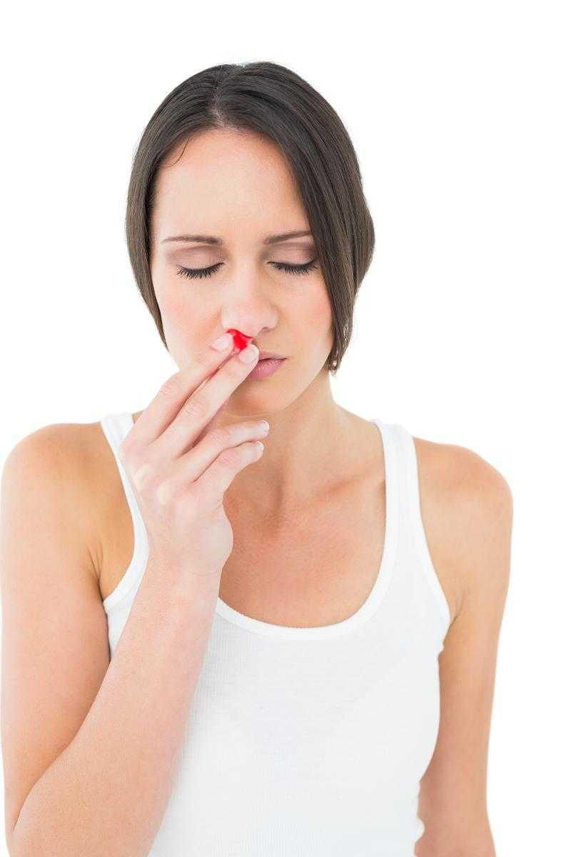 orsaker till näsblod