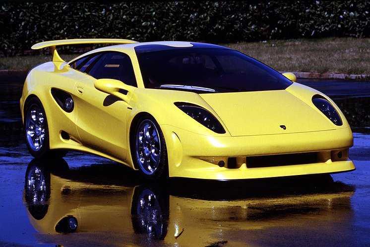 Lamborghini Cala Lambon som var tänkt att ersätta Jalpa. Men som aldrig blev av.