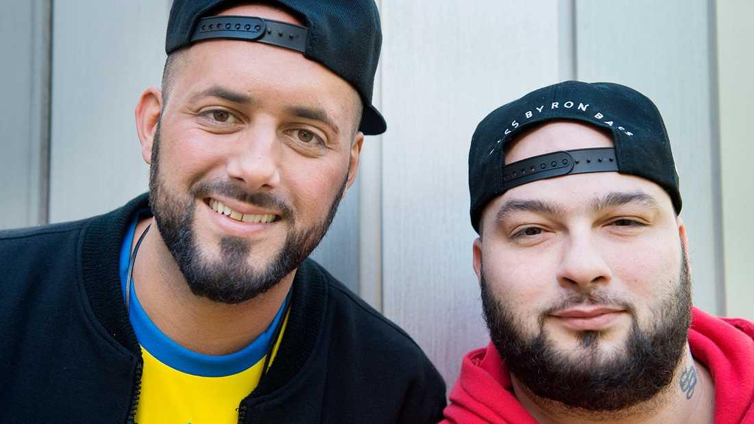 Sami Rekik och Ali Jammali i Medina.