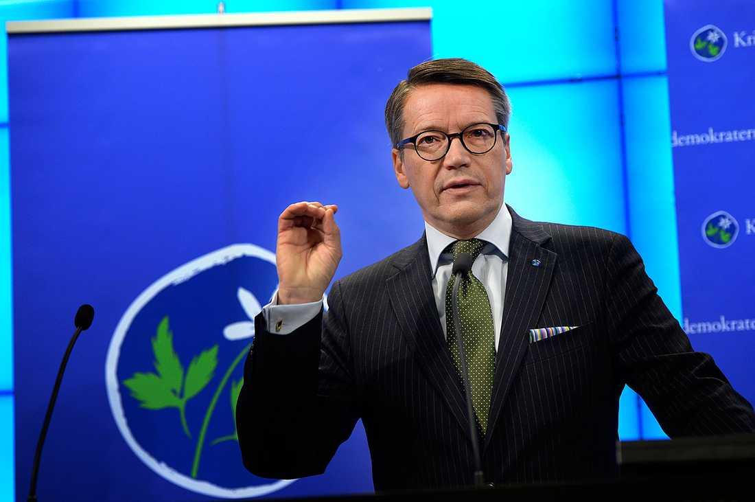 KD-ledaren Göran Häglund.