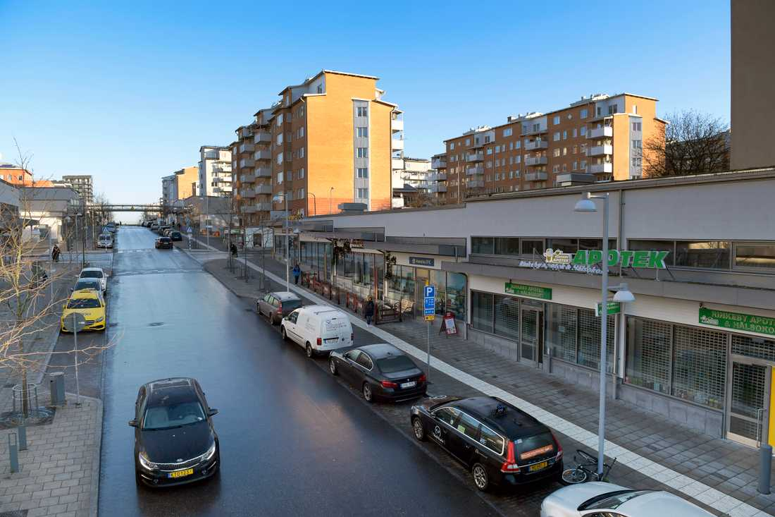 Rinkeby i Stockholm, ett särskilt utsatt område där polisen lägger extra resurser. Arkivbild.