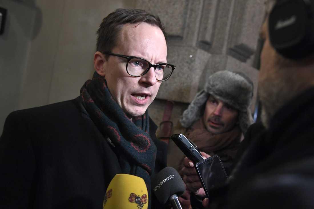Liberalernas ekonomiskpolitiske talesperson Mats Persson tillhör falangen som förordar Ulf Kristersson som statsminister.