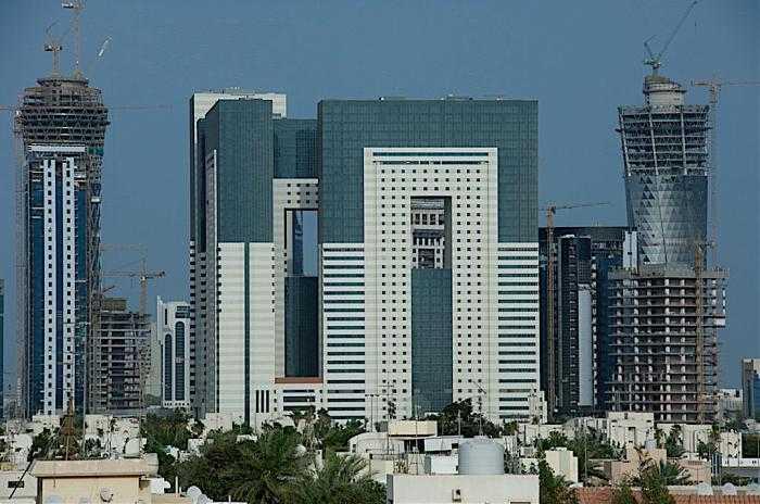 Ezdan hotell i Doha där Sverige bor.