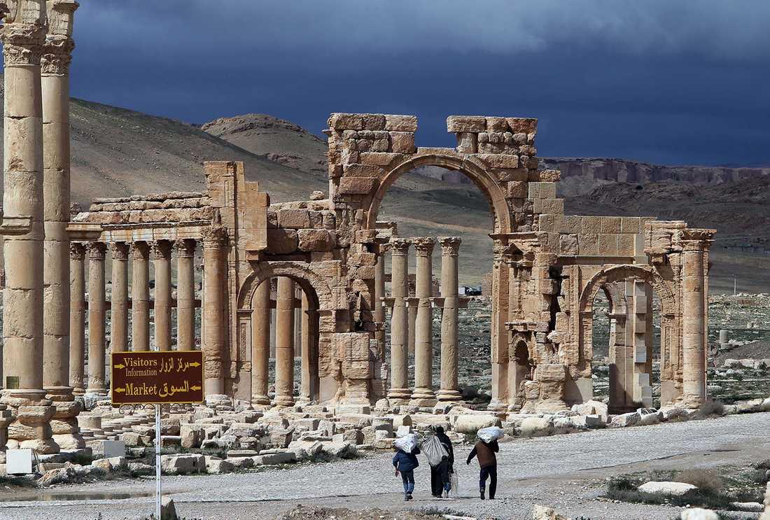 Under de första århundradena e.Kr. var Palmbyra en blomstrande stad, men staden har betydligt äldre rötter än så.