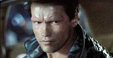 """T-800 Arnold Schwarzeneggers """"Terminator""""-robot är en av de hårdaste i robothistorien."""