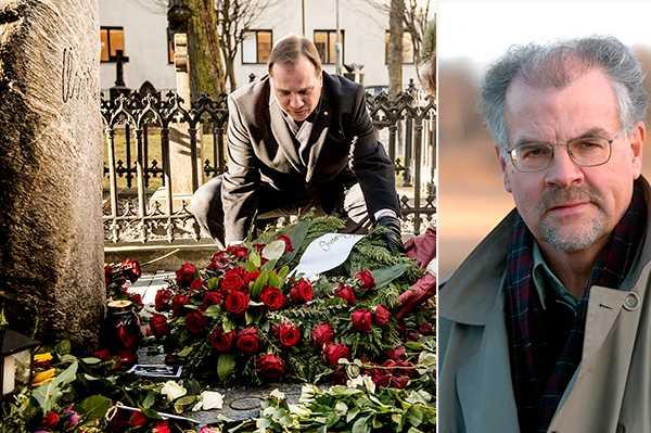 Intellektuellt undermåligt när statsministern pekar ut en avliden, frikänd person för mord, skriver debattören Lars Borgnäs på 31-årsdagen av Olof Palmes död.