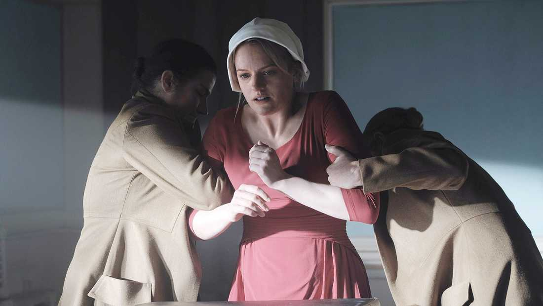 "Ur tv-serien ""The Handmaid's tale""."