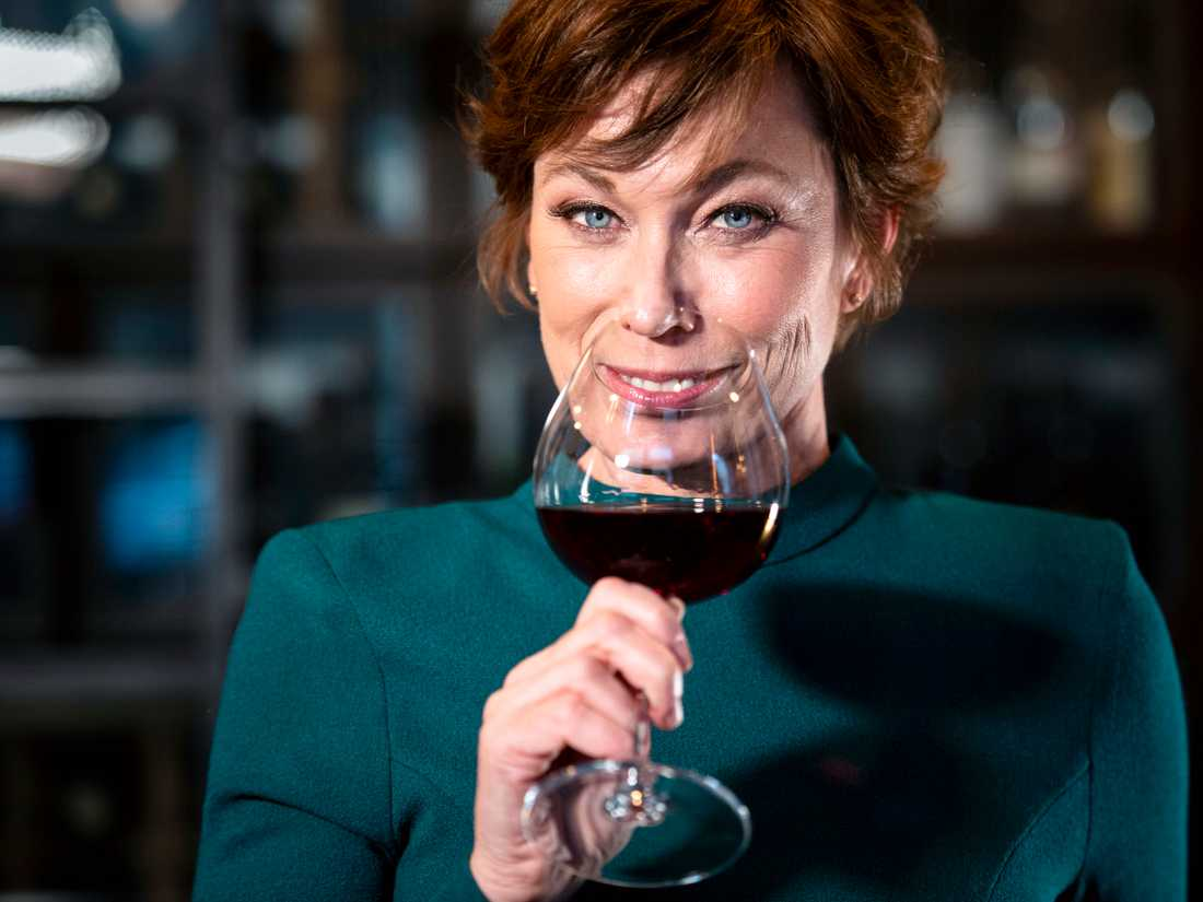 """Vinexperten Mischa Billing, bland annat känd från TV4:s """"Sveriges mästerkock""""."""