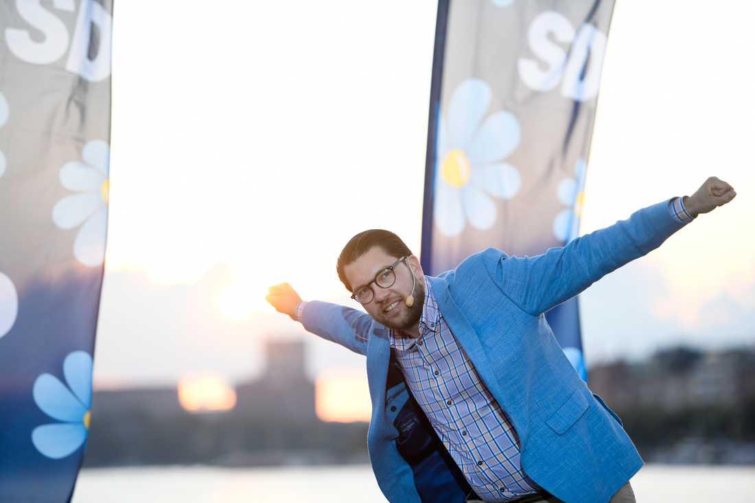 Jimmie Åkesson, partiledare Sverigedemokraterna