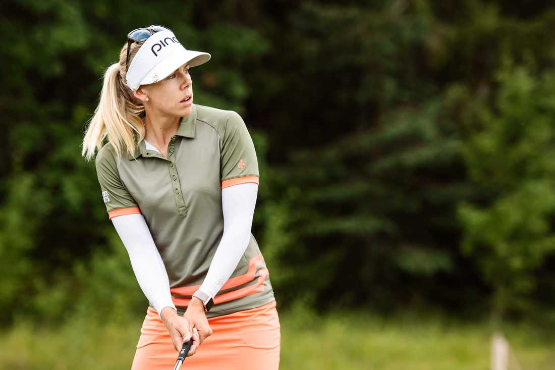 Pernilla Lindberg hyllar golfförbundets och SOK:s satsning mot OS.
