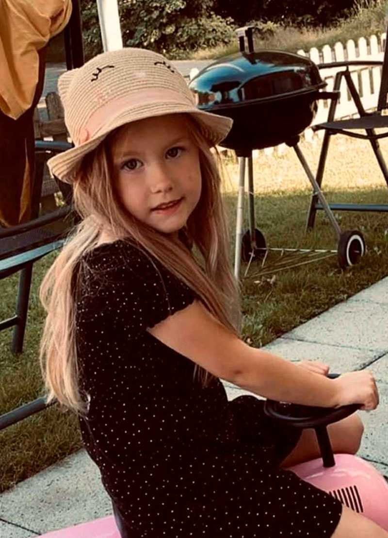 Siri, 5, avled efter olyckan.