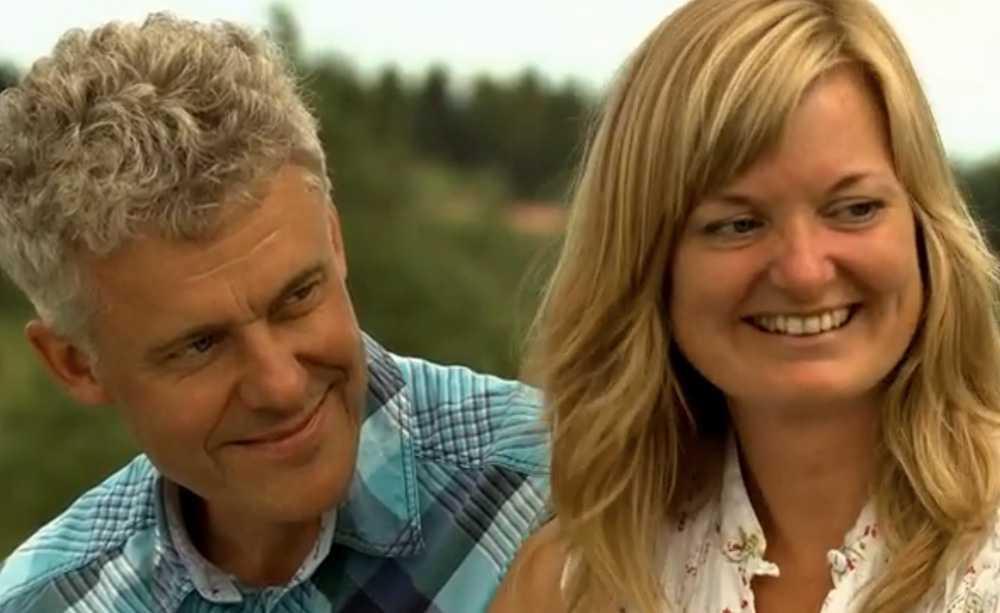 Sven-Arne Eriksson och Carola Rydh.