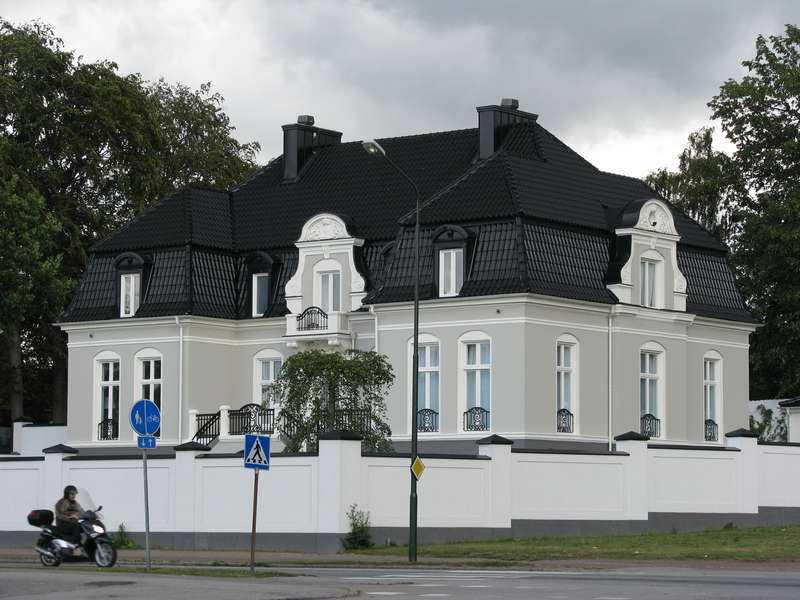 Huset i Malmö.