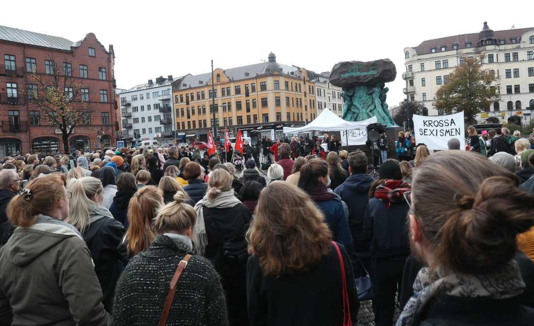 Manifestationen i Malmö
