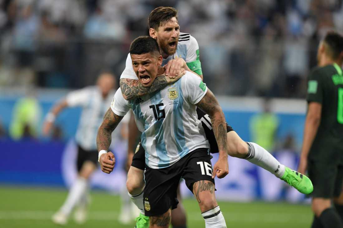 Ska det bli jubel igen för Rojo och Messi?