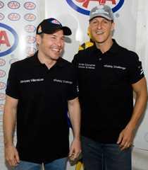 Kanske har Jacques Villeneuve inspirerats av Michael Schumachers comeback. Nästa år hoppas Villeneuve ha ett team i F1.