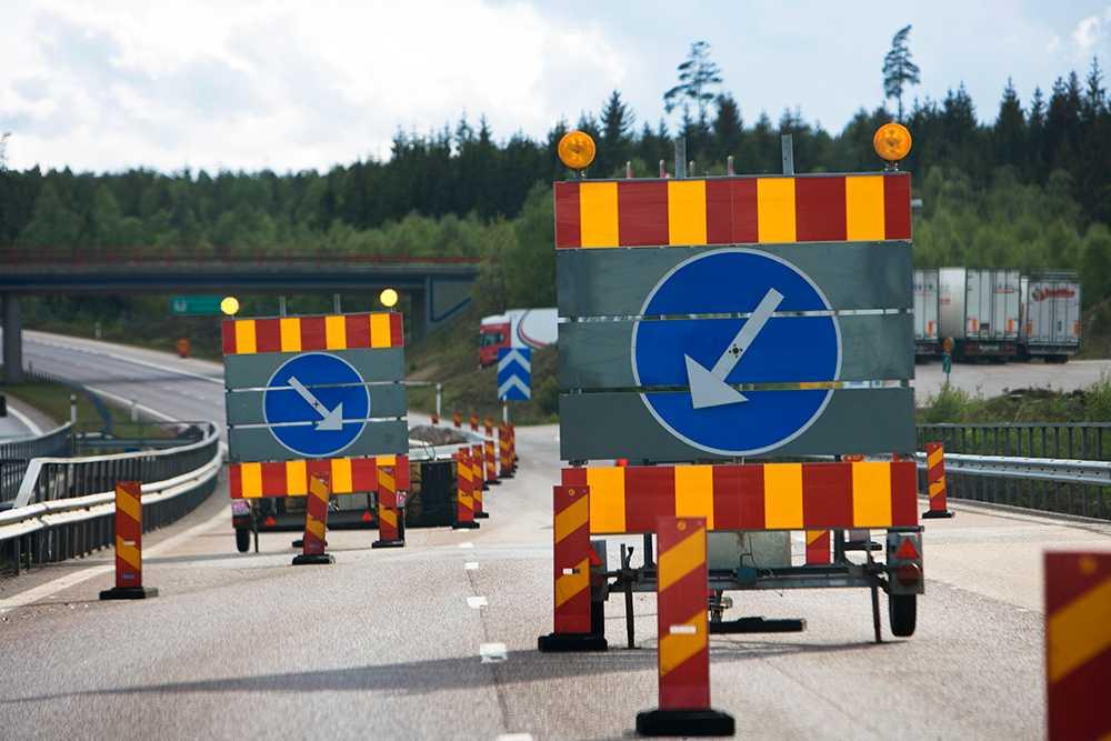 Under sommaren 2018 kommer flera stora vägarbeten att utföras.