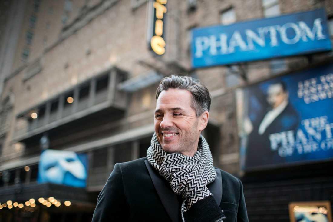 """Peter Jöback är tillbaka bakom masken när """"Phantom of the opera"""" fyller 30 år."""