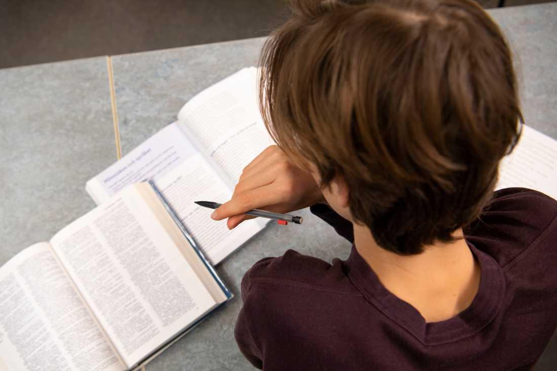 Föräldrar och elever är mer missnöjda med skolan, enligt en undersökning från Svenskt kvalitetsindex. Arkivbild.