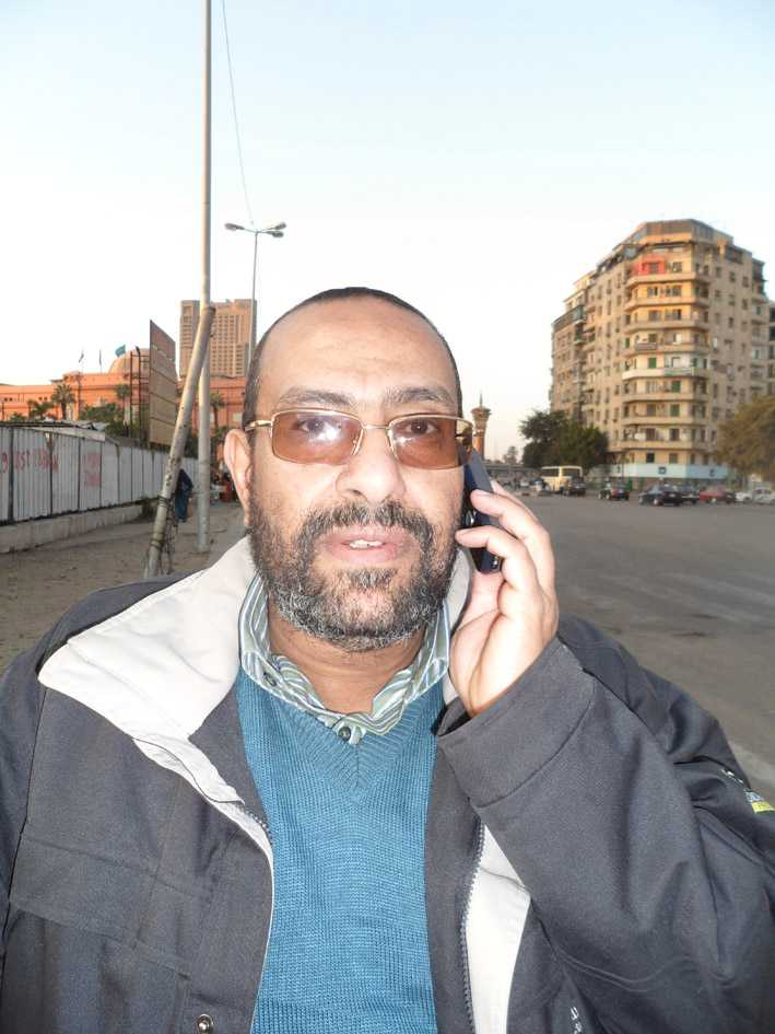 """Frihetskämpe Ahmed Agiza, 49, frigavs i augusti efter tio års fängelse och tortyr. I november demonstrerade han på Tahrirtorget. """"Mubarak har störtats. Men hans maktapparat finns kvar"""", säger han."""