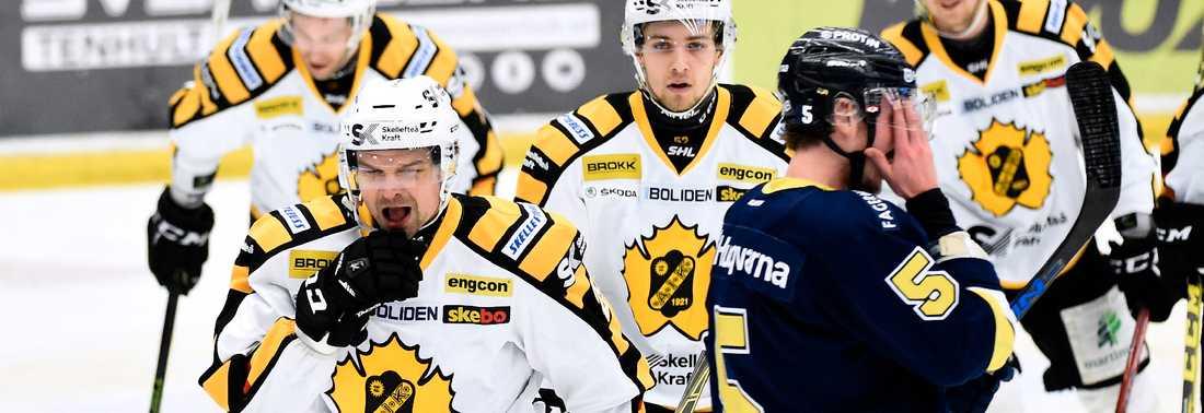 Janne Pesonen satte matchens enda mål i första perioden.