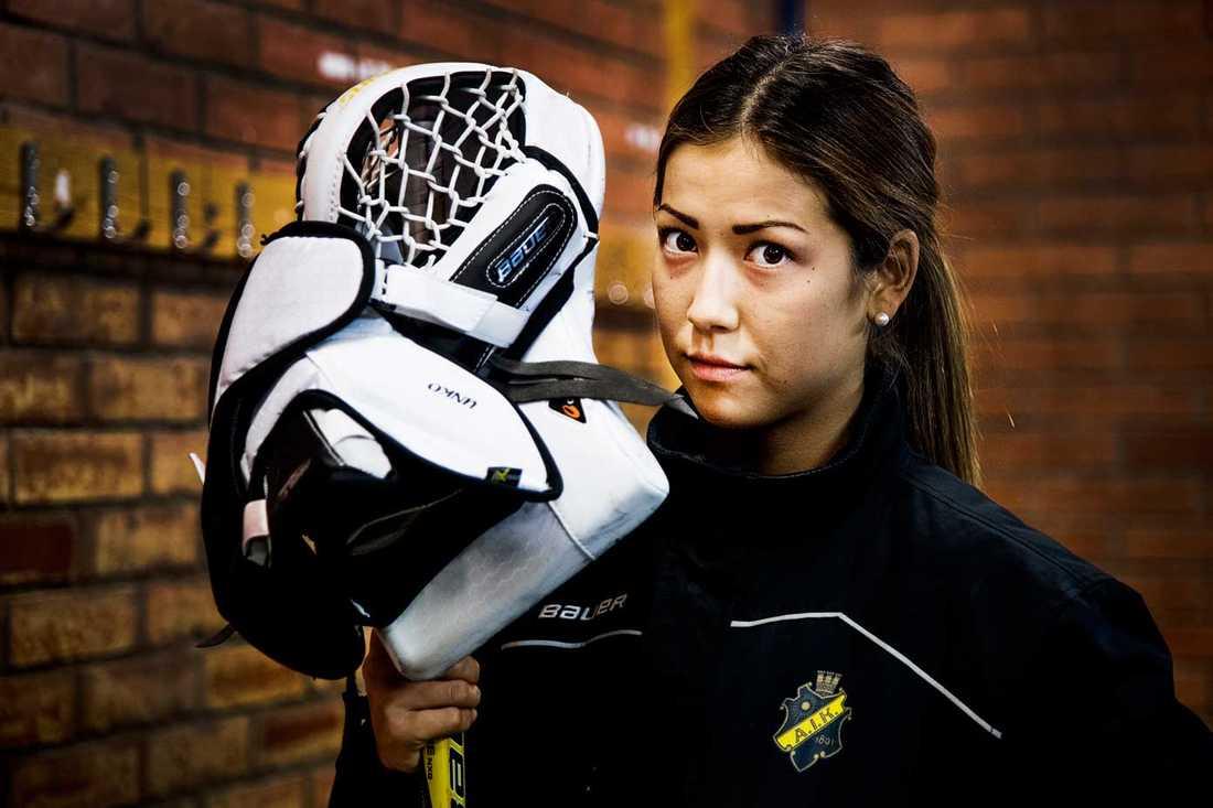 AIK:s målvakt Minatsu Murase.