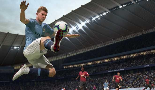 Kevin De Bruyne i Fifa 19