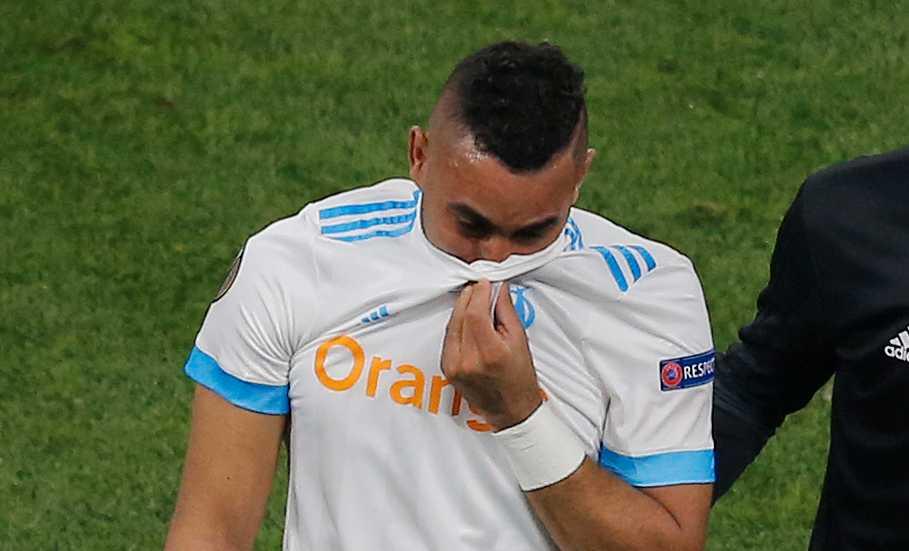 Payet i tårar under Europa League-finalen