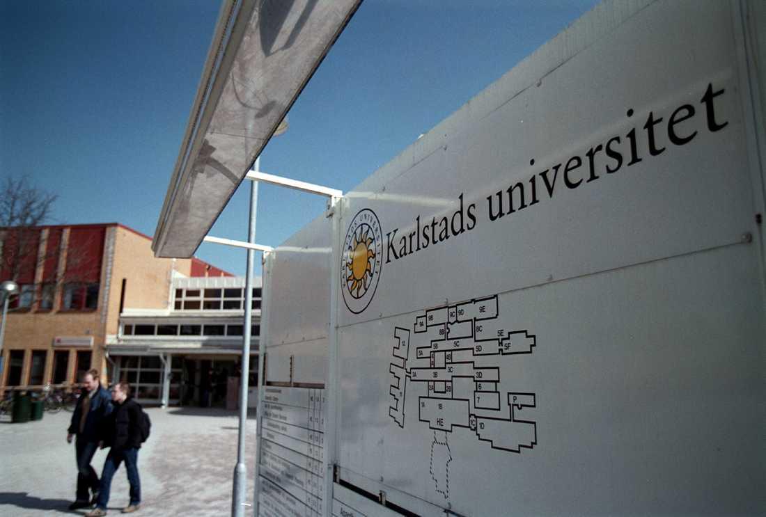 Karlstads universitet är ett av de universitet där det går att skriva högskoleprovet. Arkivbild.