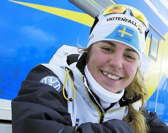 ÅTERKOMSTEN I dag kör Anna Haag damernas stafett efter att ha varit isolerad från landslaget på grund av magsjuka.