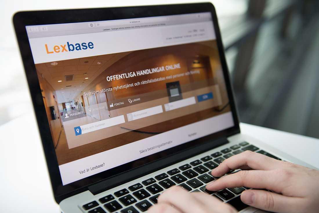Lexbase är en sajt där vem som helst kan ta reda på om någon är dömd för brott.