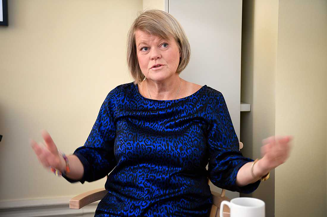 Vänsterpartiets ekonomisk-politiska talesperson Ulla Andersson kandiderar inte till posten som partiledare.