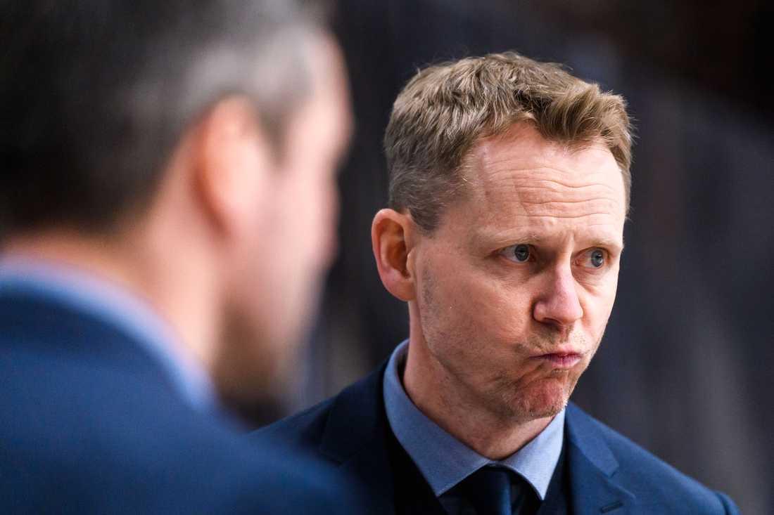 Djurgårdens huvudcoach Robert Ohlsson.