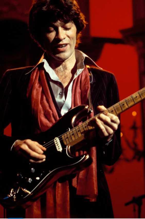 "Robbi Robertson – ibland kallad ""den matematiska gitarristen""."